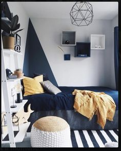 Modern Loft designed by Carlberg Home - loftisallyouneed Bedroom Setup, Boys Bedroom Decor, Small Boys Bedrooms, Bedroom Wall Designs, Mens Bedroom Design, Girl Room, Room Inspiration, Barn, Home Decor