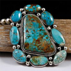 XXL Mike Platero Navajo Turquoise Necklace Pendant Necklace Sterling Silver | eBay
