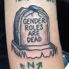 gender roles grave tattoo - Google Search