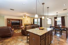 LIVING SPACE AND KITCHEN ISLAND Coming Soon! 9738 Lindrith Helotes, TX 78023