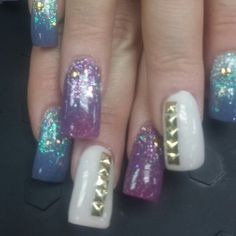 Nails by MISSY CONWAY at AN ARDENT AFFAIR SALON vis, ca