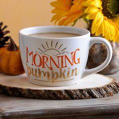 Morning Pumpkin Mug | Kirklands