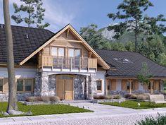 Projekt Pensjonatu Świerszcz. Pełna prezentacja projektu dostępna jest na stronie: https://www.domywstylu.pl/projekt-pensjonatu-swierszcz.php. #swierszcz #projekty #projekt #pensjonat #projektygotowe #architektura #architecture #design #housedesign #odpoczynek #domywstylu #mtmstyl