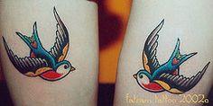 swallow tattoo old school