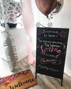 🌸✨Reminding everyone during this rainy week. No matter how long the Winter Spring is sure to follow!!! #springisintheair 🌸✨ #springtime #spring #springinspiration #chalkboardart #love #lalune #chalkboard #inspo #newseasons Winter Springs, Chalkboard Art, Spring Time, Seasons, Instagram, Moon, Fall Chalkboard Art, Seasons Of The Year, Chalkboard Sayings