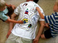 Boys Back rub shirt