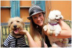 """Barks viste a la presentadora canina """"Kokita"""". Programa de TV """"Amores perros y otros amores"""" Canal 10 Cordoba  Domingo 13 de octubre 2013"""