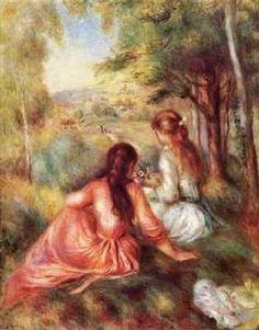Renoir - La cueillette des fleurs