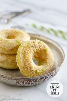베이크드 키라임 파이 도넛