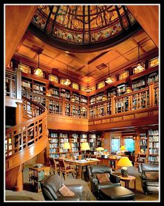 George Lucas' Skywalker Ranch Library