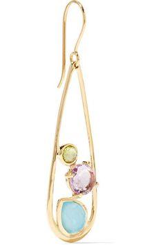 Rock Candy 18-karat Gold Amethyst Earrings - one size Ippolita rcohf