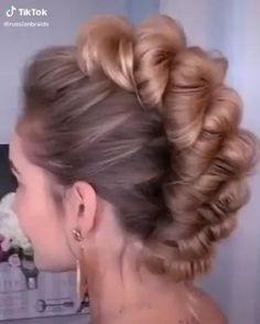 Easy Hairstyles For Long Hair, Braids For Long Hair, Bride Hairstyles, Cute Hairstyles, Long Hair Mohawk, Engagement Hairstyles, Hair Up Styles, Grunge Hair, Hair Videos