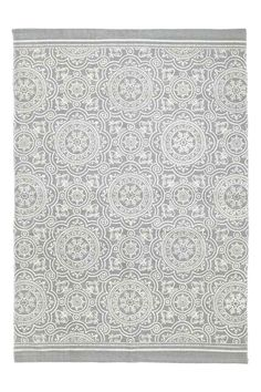 Mintás pamutszőnyeg - Szürke - HOME | H&M HU
