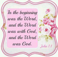 John 1:1 KJV King James Bible Verses, Bible Verses Quotes, Bible Scriptures, Scripture Verses, Prayer For Wife, God Is Amazing, Bible Promises, Christian Wallpaper, Healing Words