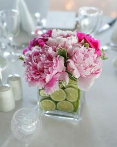 Fresh fruit, herbs and other edible deliciousness can take your wedding to the next level. Whether it's in the form of centerpieces, place cards or table numbers, it's bound to be delicious and beautiful.