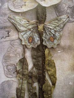 Милые сердцу штучки: рукоделие, декор и многое другое: Объемная вышивка: Текстильные скульптуры Annemieke Mein