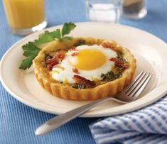 Baked Breakfast Egg Tarts // Wilton // Breakfast recipes