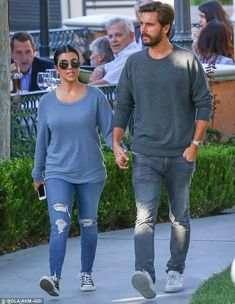 It's all out in the open: The couple looked relieved after the second part of the Keeping Up With The Kardashians special, About Bruce, had aired