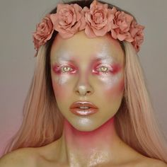 "22.6k Likes, 184 Comments - KIMBERLEYMARGARITACOLOURCREEP (@kimberleymargarita_) on Instagram: ""Glowy fairy  Used the new @makeupforeverus starlit liquid in shade 02 for the glow,…"""