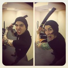 Tony Perry and Jaime Preciado (Pierce The Veil)