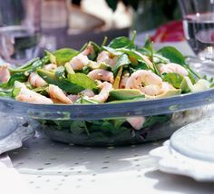 This is a classic salad with a refreshing Asian twist - perfect for a summer Sunday lunch. From BBC Good Food. Salad Recipes Video, Bbc Good Food Recipes, Healthy Salad Recipes, Diet Recipes, Vegetarian Recipes, Cooking Recipes, Healthy Food, Banting Recipes, Pescatarian Recipes
