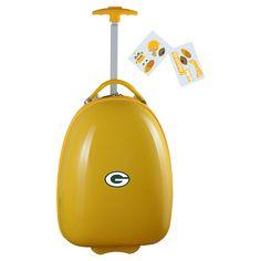 NFL Green Bay Packers Mojo Kids Luggage Pod - Yellow