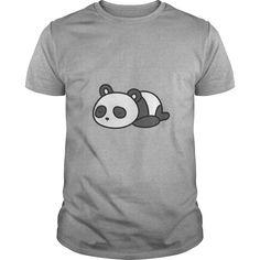 Sleeping Panda  Cute T Shirt