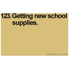 I love buying my kids new school supplies :) My Favorite Part, My Favorite Things, Simple Pleasures, Little Things, School Supplies, Make Me Smile, Random Things, Psychology, Nerd