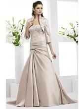 Bodenlang Preiswerte Romantische Brautkleider VR 61073J