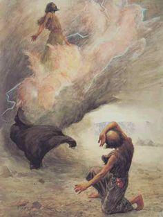 Elijah Taken to Heaven 2 Kings Bible Photos, Bible Pictures, Jesus Pictures, Spiritual Paintings, Bible Illustrations, Biblical Art, Bible Stories, Sacred Art, Bible Art
