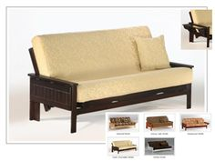 Full Size Seattle Futon Bed Package by Night & Day