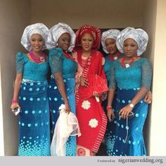 African Shop, Nigerian Traditional Wedding, Nigerian wedding velvet and lace Aso-ebi styles