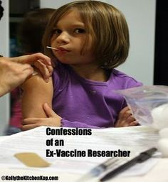 Confessions of an Ex-Vaccine Researcher - Kelly the Kitchen Kop