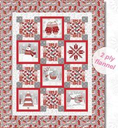 Frosty Folks I Free Quilt Pattern