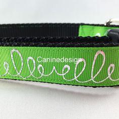 New!! #dogs #dogcollar #collar #caninedesign #green #summer #dogleash by caninedesigncollars