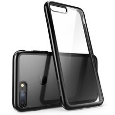 iPhone 7 Plus Case Slim Black Clear Halo Series For Apple Cover 2016 Release | eBay