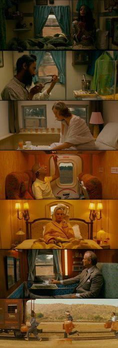 Darjeeling Limited(2007) Directed by Wes Anderson.