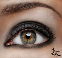 How To Paint A Realistic Eye (Youtube Tutorial) by ~Iris-Malerian on deviantART