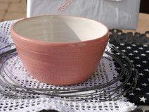 *rosa- weiße  Lieblingsstück mit Rillen*