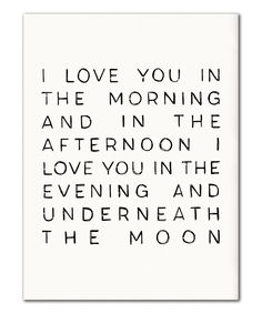 Another great find on #zulily! 'Underneath the Moon' Print by IScreenYouScreen #zulilyfinds