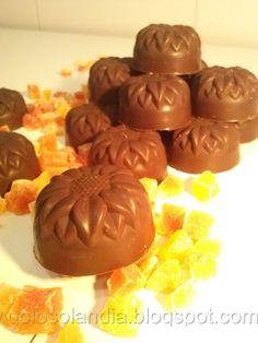 Bombones de chocolate rellenos caseros , receta casera paso a paso. http://golosolandia.blogspot.com.es/2013/05/bombones-de-chocolate-rellenos-caseros-receta-casera.html