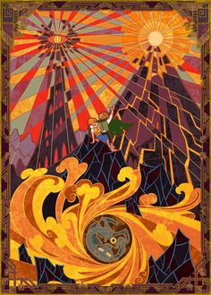 'Mount Doom' by Jian Guo