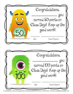 Class Dojo Behavior Management Set