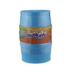 BARREL OF MONKEYS  The Barrel of Monkeys is a barrel of fun! Dump your monkeys out on a table and pick up one monkey by his arm. Hook other arms through a second monkey's arm and continue to make a chain. Your turn is over when a monkey is dropped, and the first player to hook together 12 monkeys wins! Ages 3+ #alltotstreasures #Barrelofmonkeys #fun #monkeys