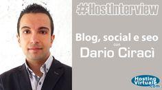 """Autore del libro """"Gestisci blog, social e seo con il content marketing"""", co-fondatore di WebinFermento, Dario Ciracì è l'ospite della #HostInterview."""