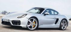 Porsche Cayman GTS - 3,4 L - 330 CV - 0-100km/h en 4,6 s