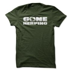 Gone Herping - Herpetologist T Shirt T-Shirts, Hoodies (19.95$ ==► Order Shirts Now!)