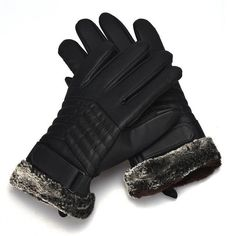 JECKSION 2016 New Men Winter Motorcycle Sporting gloves With Artificial Leather Screen Gloves Guanti uomo invernali #LYW