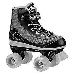 Youth 71156: Roller Derby 1378-12 Youth Boys Firestar Roller Skate, Size 12, Black/Gray -> BUY IT NOW ONLY: $32.88 on eBay!