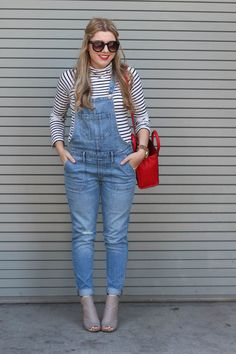 how to wear overalls and still look cute